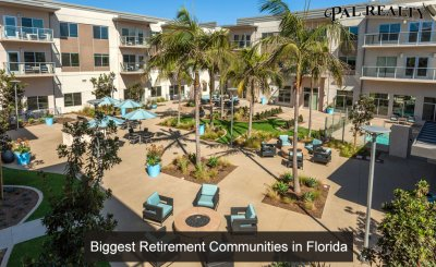 Biggest retirement communities in Florida