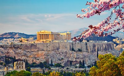 Parthenon- cheap travel destinations in europe