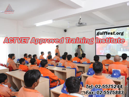 Gulf safety training courses